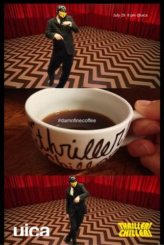 Twin Peaks: Fire Walk with Me. July 29, 2014. 7 pm costume contest, photos in the Black Lodge. Cherry pie. Coffee. 8 pm Movie 10 pm Black Lodge After Party at Stella's Lounge
