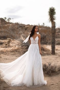 Fiona Tulle Bridal Gown with Tie-up Straps Lacy Wedding Dresses, Ballroom Wedding Dresses, Ethereal Wedding Dress, Wedding Gowns, Bridal Gown, Bridal Shoot, Wedding Veil, White Flowy Dress, White Tulle