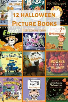 12 Halloween Picture Books Books For Autistic Children, Toddler Books, Childrens Books, Little Free Libraries, Free Library, Library Ideas, First Halloween, Scary Halloween, Nonfiction Books For Kids