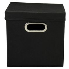 Household Essentials Cube Crate (Set of 2) Cube Tote,    #Household_Essentials_Cube_Tote