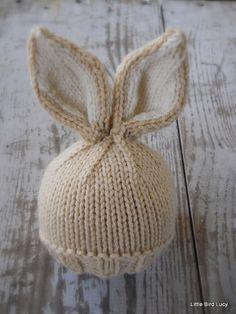 Maglia Baby Bunny / cappello neonato, Pasqua coniglio, maglia foto Prop, biscotto con crema interno orecchie, Custom colori approfitta, NB