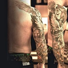 Sleeve Tattoo http://www.tattoos20.com/category/full-sleeve-tattoos/page/11/
