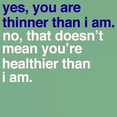 """#Skinny is #trendy. #Storyofmylife  #Healthy is not. It's the sad truth. I have more people contact me about """"#losingweight"""" than I do about """"#gettinghealthy."""" The reason for that is that being #THIN is IN and we want it NOW! But thinner does not always mean healthier ... And if you're taking drastic measures to get there I can guarantee it's neither safe nor healthy.  Many people want both and that is exciting to me because it is doable.  BUT if you're looking to """"#loseweight #fast"""" keep on…"""