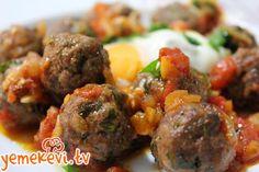 Pratik ve lezzetli bir tarif www.yemekevi.tv www.facebook.com/YemekeviTV www.twitter.com/yemekevitv www.instagram.com/fatosunyemekevi #köfte #meatball #pratikyemek #anayemek #misketköfte