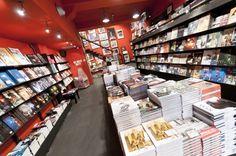 Interior of Brüsel | Courtesy of Brüsel Anspach Bookstore