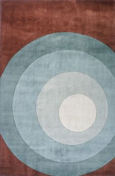NEW WAVE COLLECTION 100% Wool Pile Chinese Hand Tufted Rug in TEAL * You can get more details by clicking on the image.