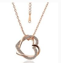 I think you'll like 18K Rose Gold Plated Pendant Necklace N007. Add it to your wishlist!  http://www.wish.com/c/531e1383796f684502cda34d