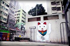Combo : le ninja du street-art