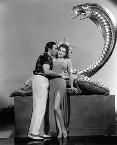 "Jon Hall and Maria Montez in ""Cobra Woman""-1944"