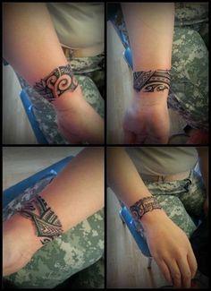 i want a wrist tat #samoan #tattoo