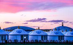 Mongolian Yurt, Around, Luxury Glamping, Canon Eos, Harvest, Taj Mahal, Camping, China, Building