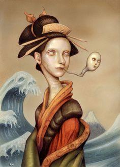 BetweenMirrors.com | Alt Art Gallery: Naoto Hattori - Dreams, Consciousness and Creativity