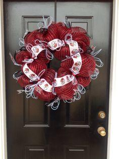 My Georgia Bulldogs Wreath