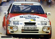 ra Carlos Sainz - Antonio Boto-Ford Sierra RS Cosworth Gr.A-Marlboro Rally Team-Rally Portugal 1987