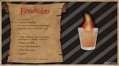 For Harry Potters birthday, cast a banishing charm on butterbeer in favor of something a little more grownup. Potion Harry Potter, Harry Potter Cocktails, Harry Potter Food, Harry Potter Jewelry, Triple Sec, Fun Drinks, Alcoholic Drinks, Snakes, Drink Recipes