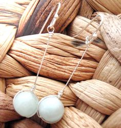 Pale Green Agate Sterling Silver Wire Wrapped by LaleePops82  #trafficlovers