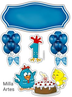 Arts And Crafts, Paper Crafts, Print And Cut, Cake Toppers, Balloons, Clip Art, Printables, Baby Shower, Scrapbook