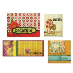 Amazon.com: BasicGrey Hello Luscious Card Kit: Arts, Crafts & Sewing