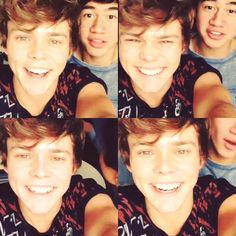 // I'm not normally like this but can I please just take one moment to tell you guys that Ashton Irwin and Calum Hood are two of the most attractive people on earth.
