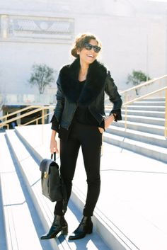 5 All-Black Outfits That WON'T Bore You To Tears #refinery29