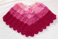 Crochet Poncho Patterns For Kids