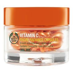 The Best of Beauty Is Now in Capsule Form | The Body Shop Vitamin C Facial Radiance Capsules: More than one reviewer has boasted the capsules have acne-fighting capabilities, too. $28; thebodyshop.com.
