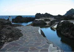 incoming natural water, Tenerife, Canary island, Spain.  I love my island