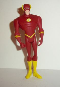 justice league unlimited FLASH wally west dc universe complete