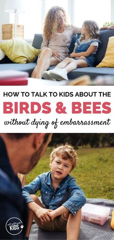 Having the birds and bees talk with kids and teens can feel uncomfortable for many parents – but it doesn't have to be! Here are a few tips on how to inform kids of all ages without embarrassment. Parenting Issues, Parenting Articles, Parenting Books, Parenting Teens, Kids And Parenting, Family Psychology, Things To Do With Boys, Toddler Preschool, Bees