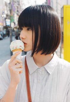cute ...Japanese Bob Hairstyles