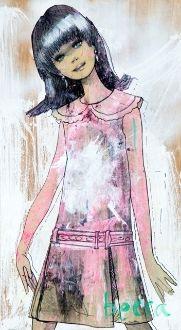 Diane - Becca Midwood art print