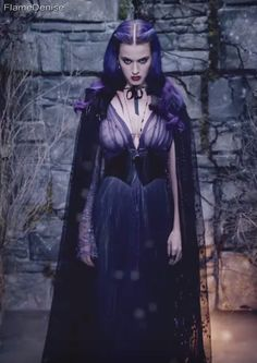 """Katy Perry's enchanting dress from the enchanting music video """"Wide Awake""""."""