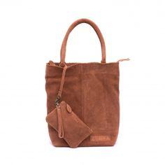 Deze ZebraTrends Natural Bag Kartel Echt Suede P. Vintage vind je op www.liefzebraatje.nl