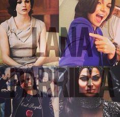 Awesome Lana Evil Queen Regina/Regina
