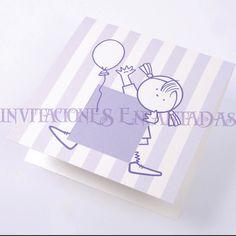 Invitacion de Bautizo Modelo: Babysimple 21