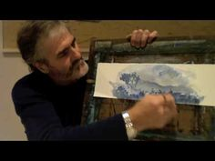 Stephen Mann Water colour Tips and Tricks - Trick #2  How to use intentional and unintentional lines to your advantage.