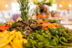 Grilled Veggies, Atlanta Weddings, Avenue Catering Concepts, The Pavillion at Olde Towne