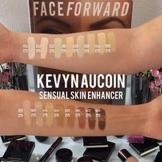 """#KevynAucoin Sensual Skin Enhancer is a unique cream foundation that corrects, conceals, and provides weightless, full coverage that feels like a true second skin  Worn by a decade of """"IT"""" girls such as Madonna, Christina Ricci, and most recently Kylie Jenner  Explore this amazing product in-store and online NOW! ✨ #CameraReadyCosmetics"""