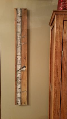 42 TALL Reclaimed Wood Pallet Art Hand by TheWhiteBirchStudio