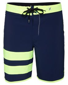 """The Phantom Block Party Original Boardshorts offer water repellent material and a 19"""" fit for en..."""