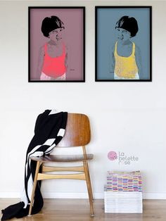 LittlePortrait by la belette rose. To get yours, just visit http://www.labeletterose.com/littlePORTRAITS