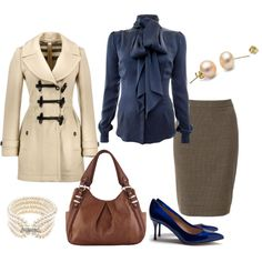 Fashionable Work Outfit Ideas for Fall & Winter 2019 published in Pouted Magazine Women Fashion - Are you looking for catchy work outfit ideas to copy in the fall and winter seasons? You can find what you need here. During the cold seasons, we find. Classy Outfits, Stylish Outfits, Fashion Outfits, Fashion Trends, Winter Outfits For Work, Spring Outfits, Work Outfits, Fashion Moda, Womens Fashion