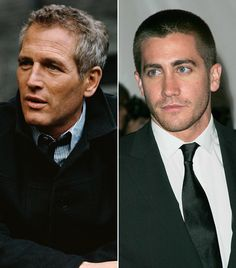Paul Newman and his Godson Jake Gyllenhaal