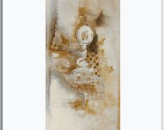 Contemporary Art Original Artwork Abstract di OriginalPaintingsTR
