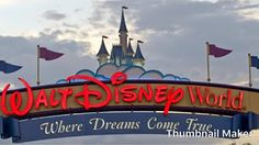 Walt Disney World. The main entrance to Walt Disney World Orlando Florida , Voyage Disney World, Walt Disney World Orlando, Disney World Florida, Disney World Trip, Disney Parks, Disney Tips, Disney Cast, Film Disney, Disney Hotels