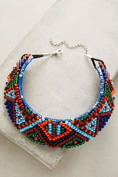 Zulu Beaded Choker