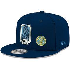 c303616da6a Men s Denver Nuggets Mitchell   Ness Blue Surf Camo Bucket Hat