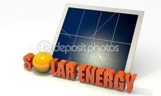 Renewable energy, solar panel — Foto Stock #9577227