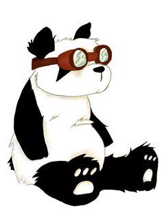 Steampunk Panda