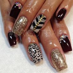 Like the concept - but a Little too long Nails for my taste and Comfort. Nails need to be funtional!!